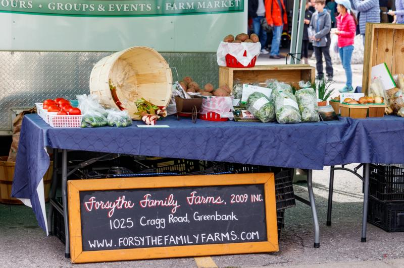 Farmers Market Began Its 2009 Season >> Farmers Market Main Street Markham